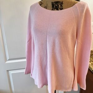 Ann Taylor LOFT Blush Pink Sweater Size Medium